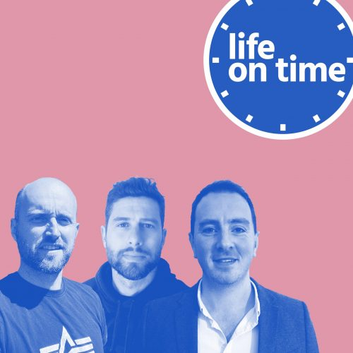 Life on Time Podcast front cover