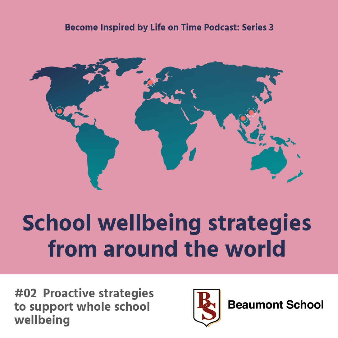 support whole school wellbeing